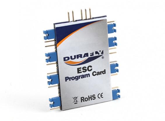 Cartão de programação Durafly ESC