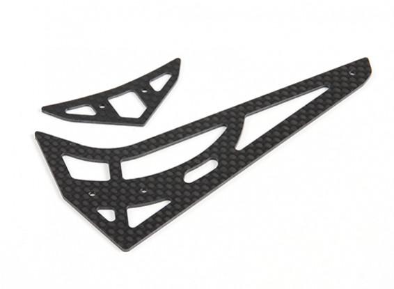Assalto 450DFC TT & helicóptero Belt Flybarless 3D Carbono Vertical e Horizontal Set Cauda
