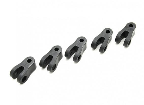 Heavy Duty Nylon clevises 23 × 12,5 × 10 milímetros (5pc)