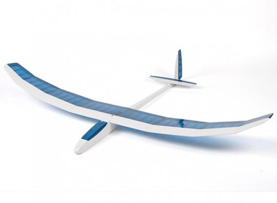 Felipe Vadillo Projetado Dynamo Glider Balsa 1.500 milímetros (azul / branco) (ARF)