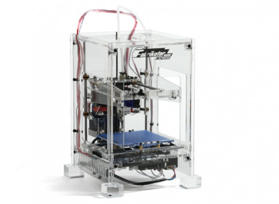 Printer Fabrikator Mini 3D - V1.5 - Transparente - 230V UE