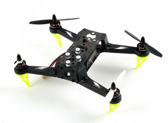 Fibra de Carbono Spedix S250Q Corrida Drone w / CC3D Motor PDB ESC Hélices (ARF)
