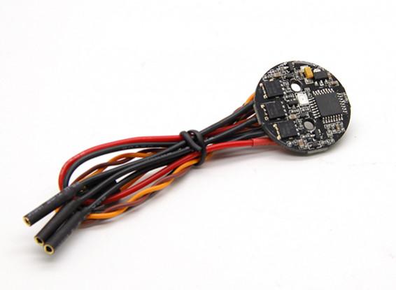 Rodada 12A ESC com LED vermelho para Spedix Series Multirotors (1pc)
