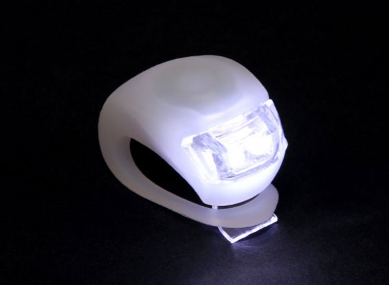 Branco Silicon Mini-Lamp (LED branco)