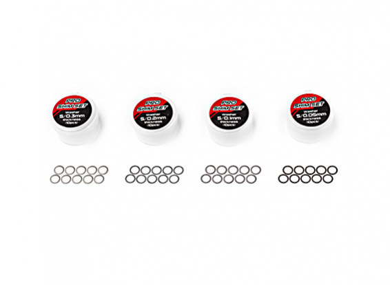 TrackStar Pro Shim Set - 5 milímetros Inner (10pcs)
