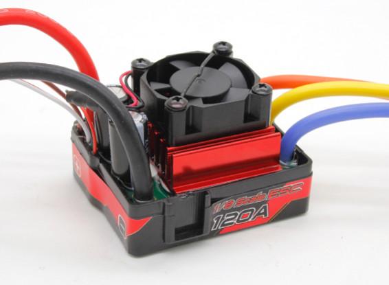 TrackStar impermeável Brushless 1 / 8th 120A ESC