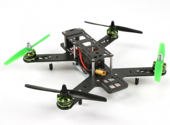 Quanum Outlaw 270 Carbon Fiber Quadrotor Racer Set (ARF)