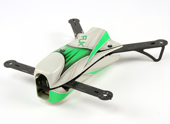 RJX CAOS 330 FPV Corrida Drone - Airframe Only (verde)