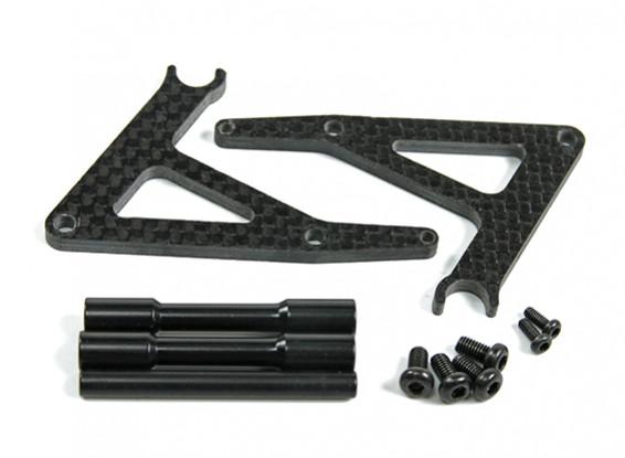BSR 1000R peça de reposição - suporte opcional Fibra de Carbono Bicicleta
