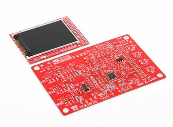 Kit DSO138 Oscilloscope, JYE Oficial, SMT FEITO Kit versão