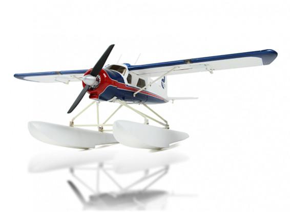 Dehavilland DHC-2 Beaver espuma 680 milímetros (PNP) versão
