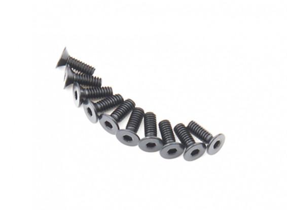 Machine Head metal plana Hex Screw M2x6-10pcs / set