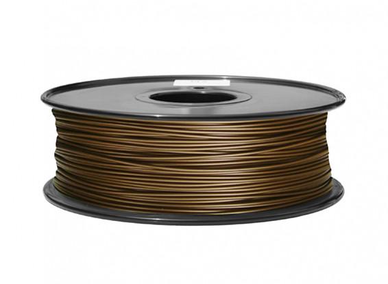 HobbyKing 3D Filament Printer 1,75 milímetros de Metal Composite 0.5KG Spool (Cobre)