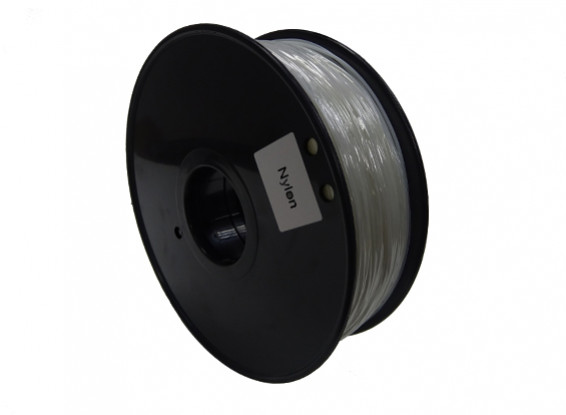 HobbyKing 3D Printer Filament 1.75mm PA Nylon 1.0KG Spool (Transparent)