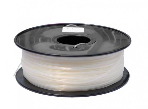 HobbyKing 3D policarbonato Filament Printer 1,75 milímetros ou PC 1KG Spool (branco)