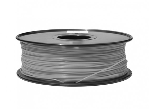 HobbyKing 3D Filament Printer 1,75 milímetros ABS 1KG Spool (cinza P.430C)