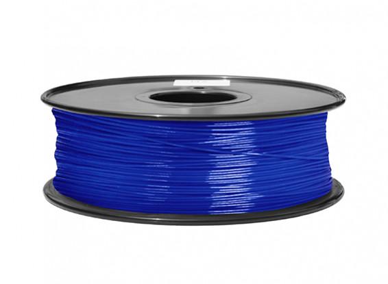 HobbyKing 3D Printer Filament 1.75mm ABS 1KG Spool (Translucent Blue)