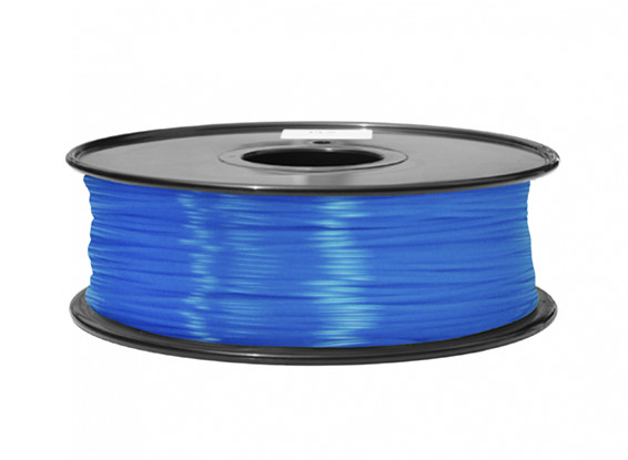 HobbyKing 3D Filament Printer 1,75 milímetros ABS 1KG Spool (azul fluorescente)