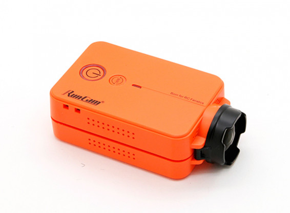 RunCam2 FULL HD 1440P 4MP 120 graus FPV Camera w / WiFi (Laranja)