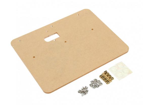 Universal Acrílico placa de montagem para Arduino