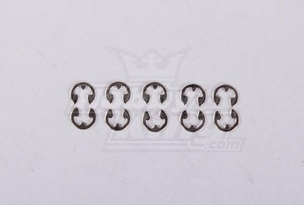 anel E de 2,3 * 0,4 milímetros (10pcs / saco) - 30779