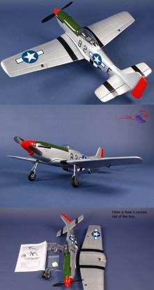 P-51D Mustang RTF w / Brushless Sistema