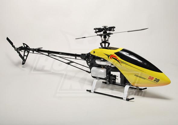 AHF-50 .50 Tamanho Kit helicóptero Nitro 3D
