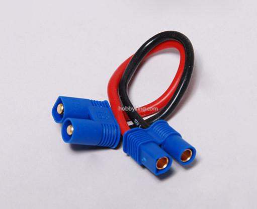 EC3 de fios de extensão 16AWG 10 centímetros