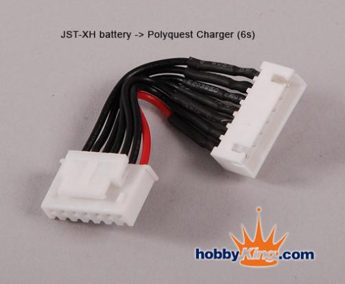 JST Bateria - Polyquest 6S carregador