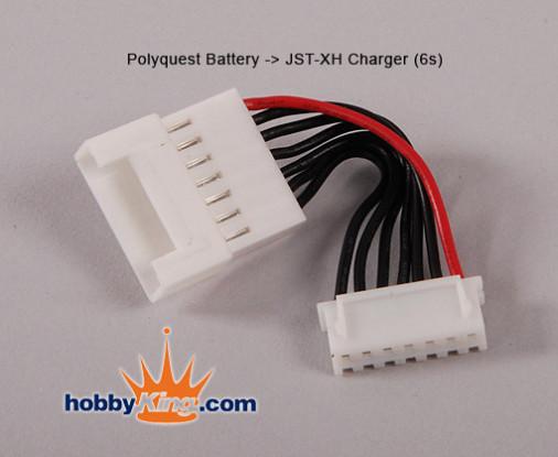 Polyquest Bateria - JST 6S carregador