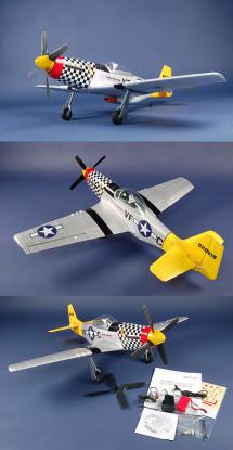 Art tecnologia P-51D Mustang RTF w / sistema brushless