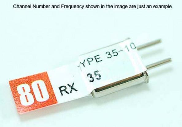 Conversão dupla Rx Cristal 35,840 (50U)