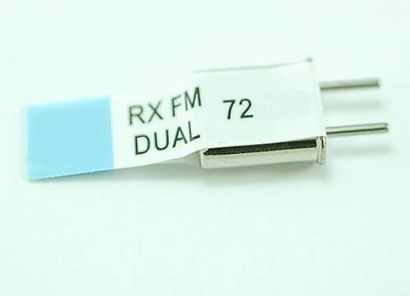 Conversão dupla Rx Cristal 72,030 (50U)