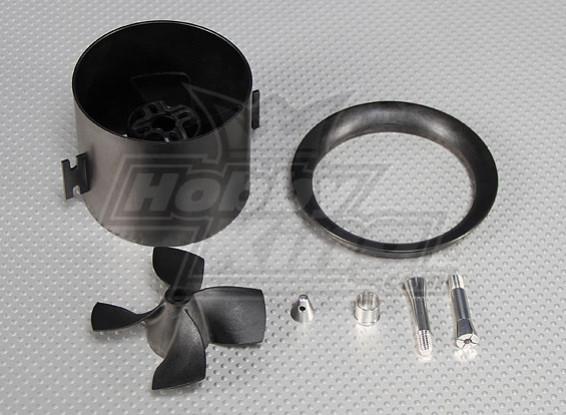 Alto desempenho do FED canalizado Fan Unit 4 Blade, 2.75inch, 70 milímetros