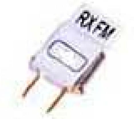 Única conversão Rx Cristal 35Mhz Ch72 (tamanho mini)