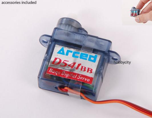 0,6 kg D541BB-v2 Digi-Micro Servo / .09sec /4.4g (lotação esgotada)