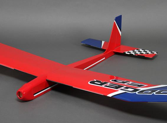 Dodger EP 3 Canal Glider térmica 1,980 milímetros (ARF)