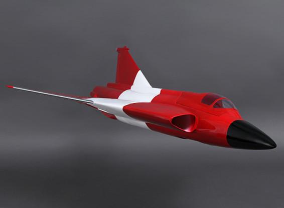Saab J-35 Draken 90 milímetros EDF Composite 800 milímetros (ARF)