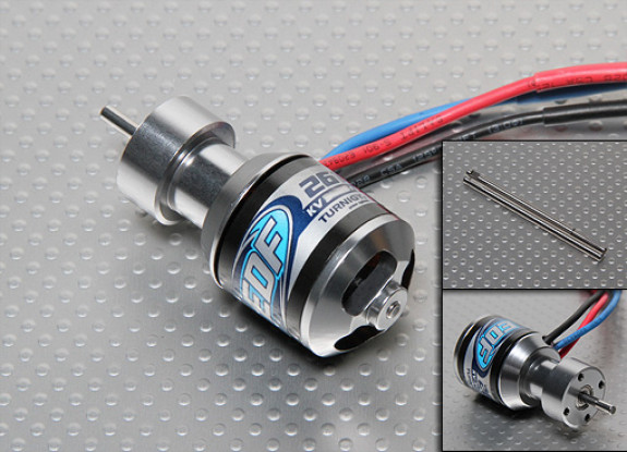Turnigy 3600kv 2610 EDF Outrunner para 55/64 milímetros