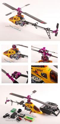 HoneyBee King II Especial de Carbono Edição 72MHz RTF 6ch