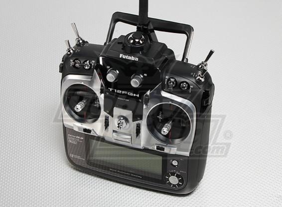 Futaba 12FGH PCM G3 2048 w / R6014HS 2.4GHz Receiver (Modo 1)