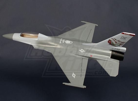 70 milímetros EDF Jet Fighter - Fibra de vidro 620 milímetros (ARF)