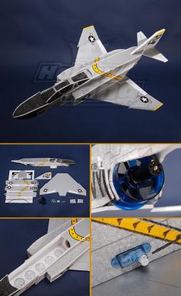 Mini F4 Jet EPP Kit com a EDF e motor brushless.