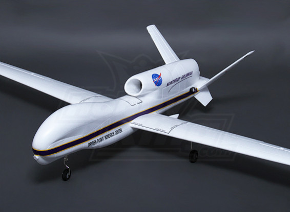 Hobbyking RQ-4B Global Hawk 64 milímetros EDF 2.360 milímetros (PNF)