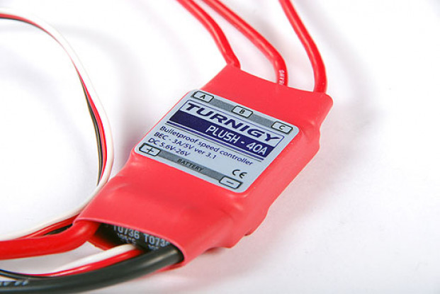 Turnigy Plush 40 ampères Speed Controller w / BEC