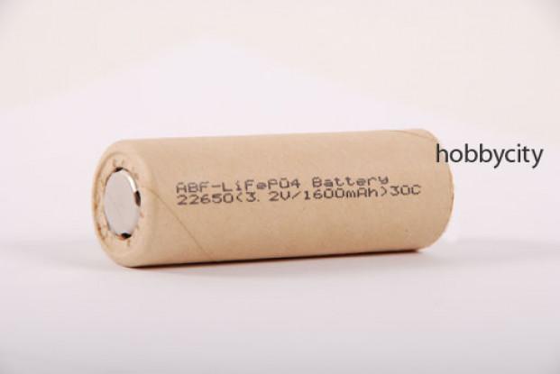 LiFePo4 1600mAh celular 3.2V 20C