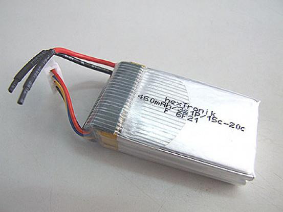 hexTronik 460mAh 11.1v 15C Lipo pacote