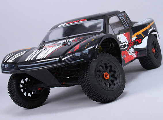 HobbyKing 260SC 1/5 Scale 26cc Curto Truck Course