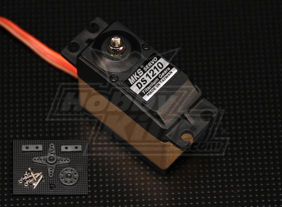MKS DS1210 Titanium Engrenagem Servo (0,12 seg / 10 kg-cm)