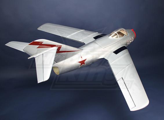 Mig-15 fibra de vidro 90 milímetros EDF Jet, 1127 milímetros (ARF)